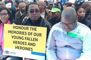 PICS: Lesufi, Makhura among those commemorating Soweto uprising on Youth Day