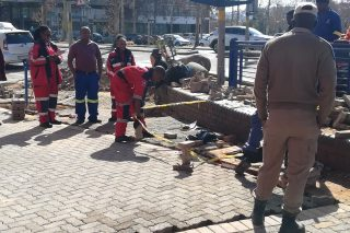 Body of a baby discovered in Alberton drain