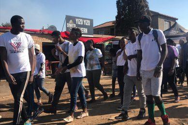 ECG donates blankets, food to Tembisa orphans, addicts