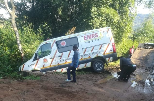 Two paramedics in the employ of the KZN health services were shot and robbed in the early hours of Wednesday morning, 19 June 2019. Picture: Supplied