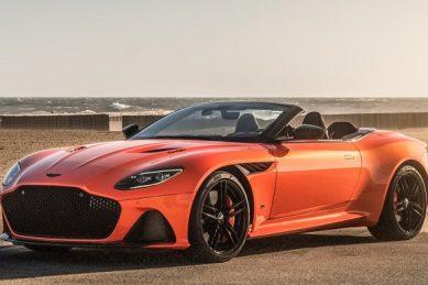 Aston Martin removes DBS Superleggra's roof