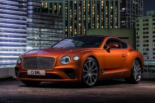 Bentley Continental GT gets new V8 heart
