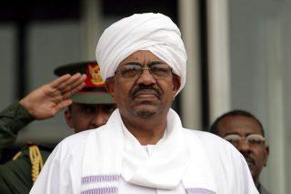 Bashir makes first public appearance since arrest