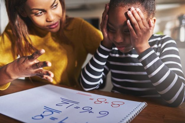 Signs of dyscalculia, also known as a math learning disability or math disorder, can be hard to spot. Shutterstock