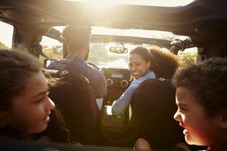 7 tech free road trip hacks for children