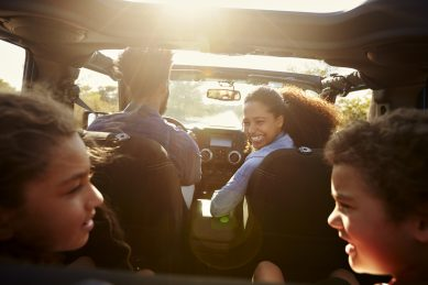 7 tech free road trip hacks for children