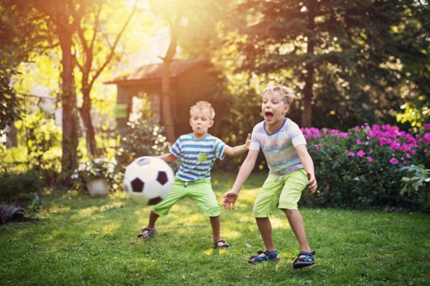 Being active even at age three will boost your heart for life