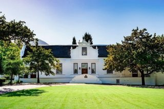 Lanzerac is officially the best hotel in the winelands