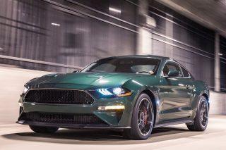 Ford's tribute Steve McQueen Mustang Bullitt coming in 55 hits