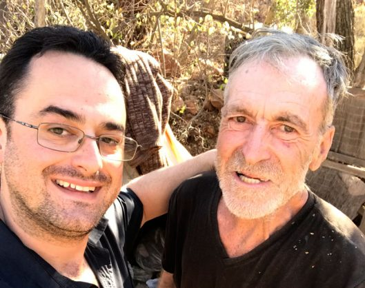 Hartbeespoort's well-known hermit found dead outside tent