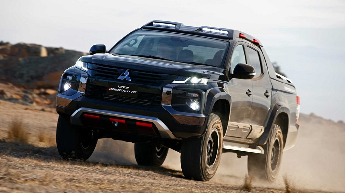 Leaked patent drawings suggests Mitsubishi could take on Ranger Raptor