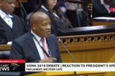 Jackson Mthembu throws shade at DA, EFF in his Sona reply