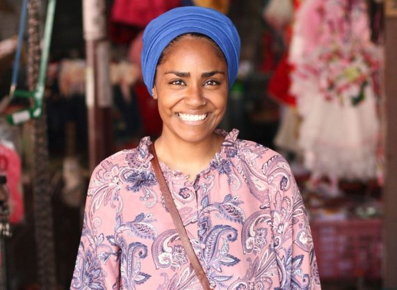 Nadiya Hussain makes home cooking easy with her recipe book