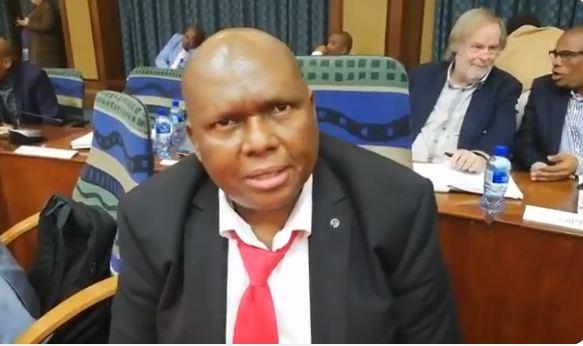 Nelson Mandela Bay Mayor Bobani Mongameli. Picture: Screenshot.