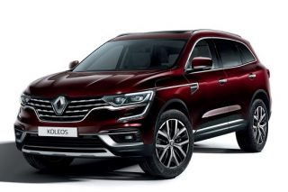 Renault Koleos revised with a new face and cleaner heart