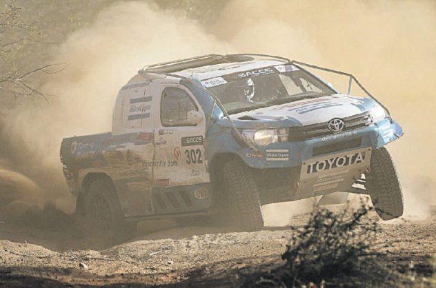Toyota 1000 Desert Race: Sweat and tears in the desert