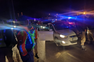 'Drunk' 20-year-old man arrested after wild car chase