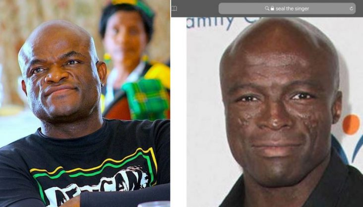 Twins? Northern Cape Premier gets mistaken for Seal