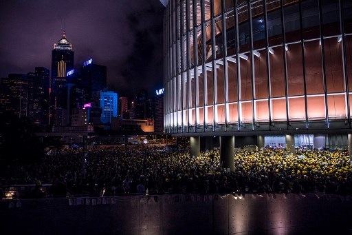 Asian markets stutter after rally, Hong Kong brushes off protests