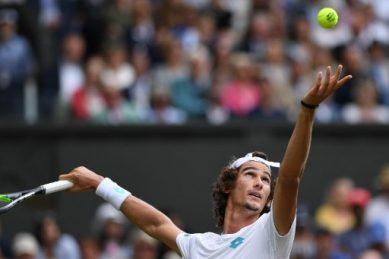 'I had goosebumps': SA's Harris hails idol Federer