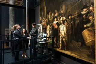 World invited to watch museum restore Rembrandt's 'Night Watch'