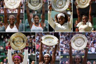 Flashback: Serena Williams's seven Wimbledon titles