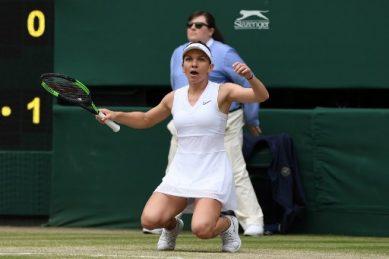 Ruthless Halep wins Wimbledon and stalls Serena