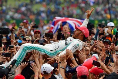 Hamilton wins record sixth British GP, extends F1 lead