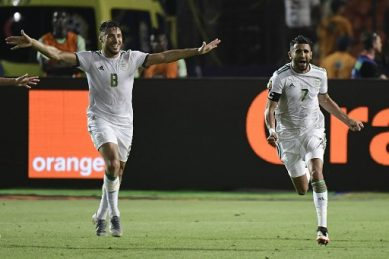 Mahrez scores as Algeria qualify for Africa Cup of Nations