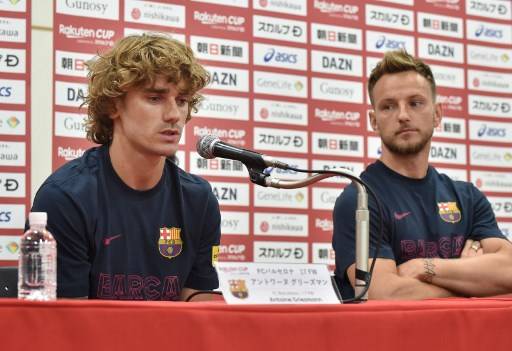 Griezmann says heart with Barca after ugly Atletico exit