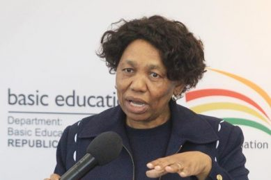 Fail! Pupils, Equal Education hand Angie Motshekga her report card