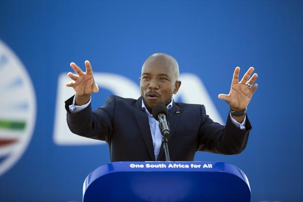 The ANC should split, says Maimane