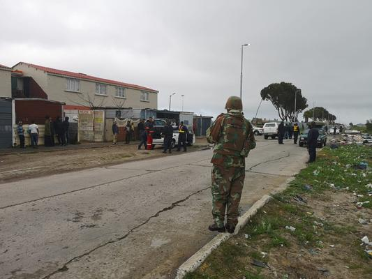 Murder stats show decline since SANDF troops deployment in Cape Town communities