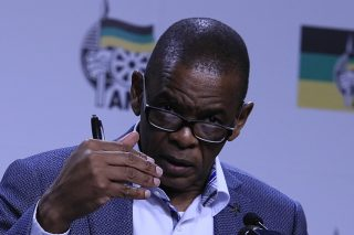 Journalists stage Luthuli House walkout after waiting more than an hour for Magashule - Citizen