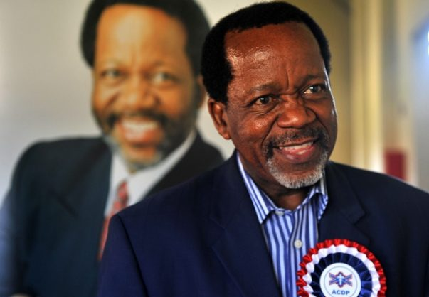 ACDP leader Kenneth Meshoe trusts in God after showing no ill effects from Covid-19