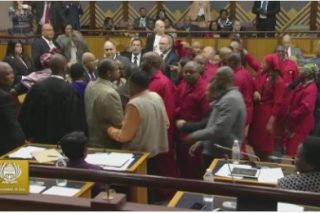 Speaker refers report on EFF disruption to subcomittee on physical removals