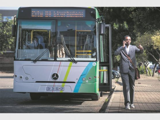 The Harambee bus service will launch a safe, smart travel card from August 1.