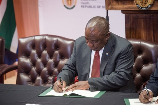 FIC gave Mkhwebane more CR17 information than requested, says Ramaphosa