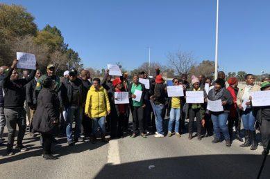 ANC Joburg caucus protests against power cuts