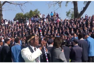 Watch: South African students inspire the nation with incredible war cry!