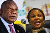 Mkhwebane het Ramaphosa se bankstate - verslag - Citizen - twee jaar werd