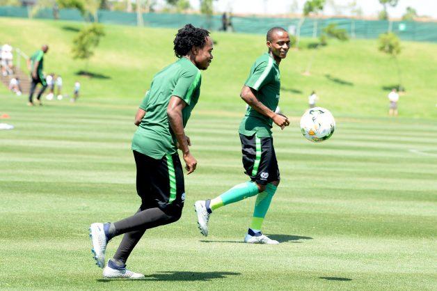 Okocha identifies Bafana danger men vs Nigeria