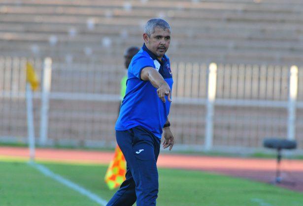 Chippa United coach Clinto Larsen (Photo by Philip Maeta/Gallo Images)