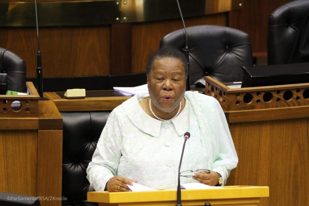 'I think it is the media that is depicting SA as xenophobic,' says Naledi Pandor