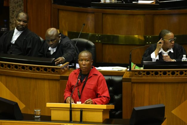 Govt tenders must be abolished, Malema tells parliament
