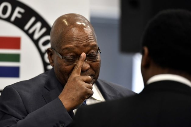 Former President Jacob Zuma at the State Capture Commission in Parktown, 16 July 2019. Picture Neil McCartney