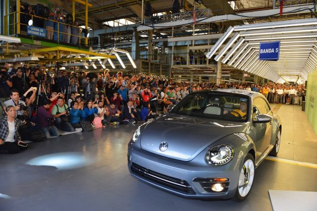 Volkswagen Beetle's lifespan now officially over