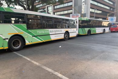 Tshwane bus service abruptly halted over unpaid salaries