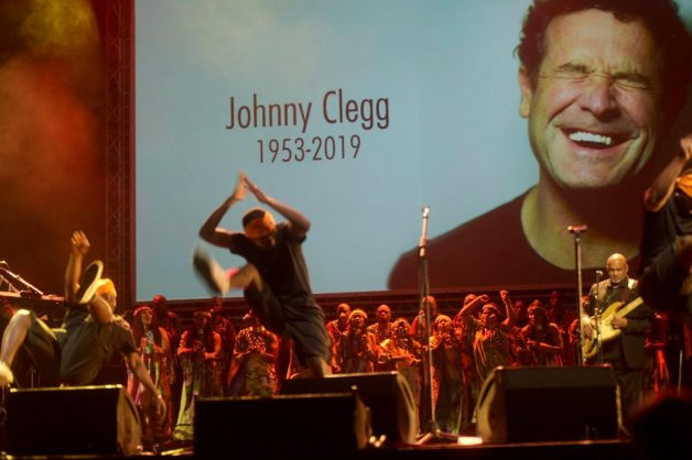 Johnny Clegg's memorial service