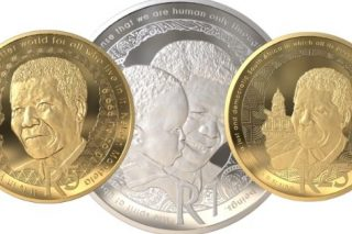 Mandela's 'Life of a Legend' collectable R25, R5, R1 coins released
